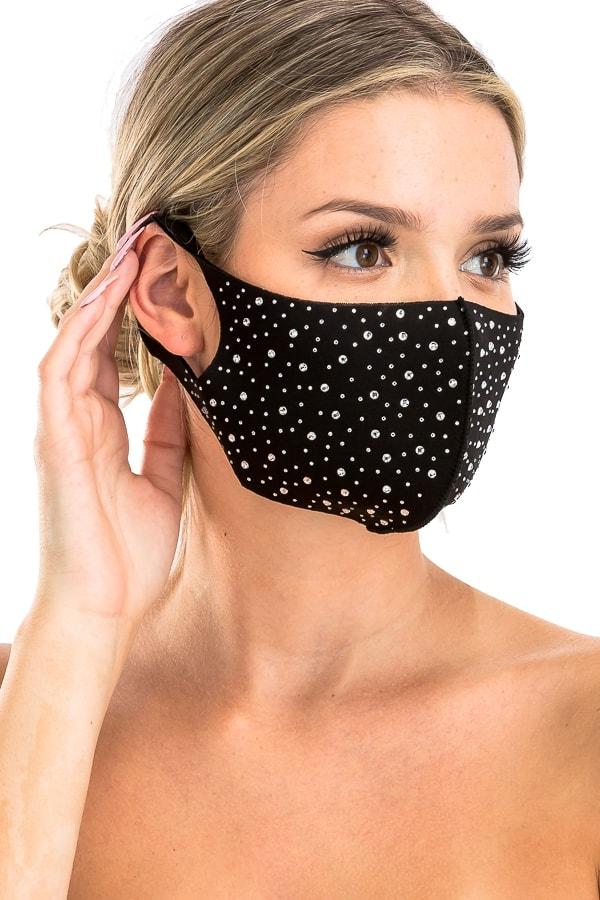 bling mask side